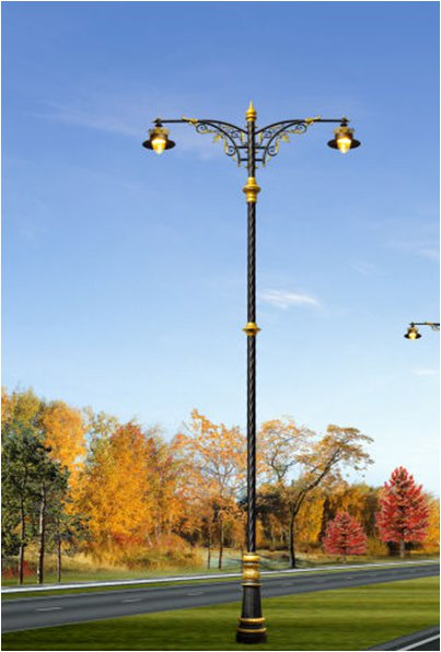 Decorative street pole
