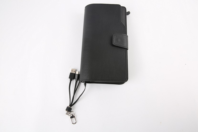 power bank man wallet