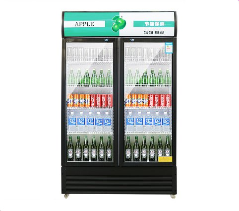 Glass door cooler