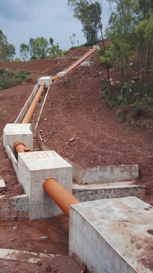 易門縣苗茂水庫渠系工程一標倒虹管工程