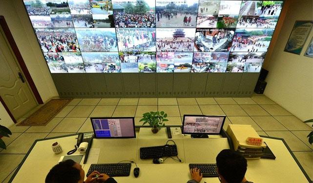 上海某公园监控系统