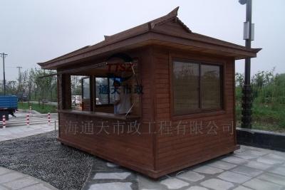 安徽蚌埠防腐木售货亭