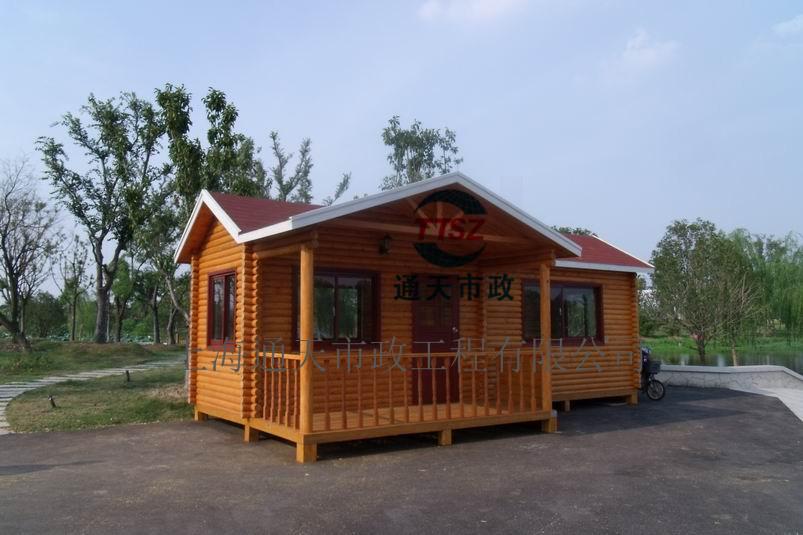 苏州防腐木售货亭