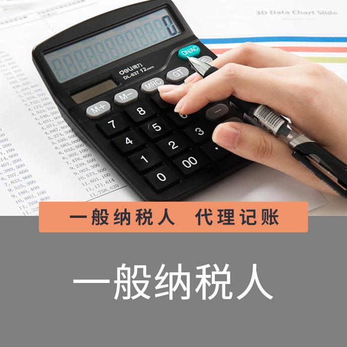 一般纳税人财税代办、财税记账