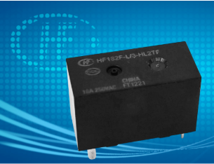 宏发发布新产品-功率继电器  HF182F-L
