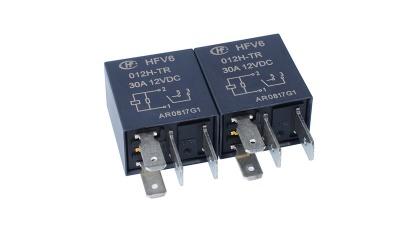 宏发汽车继电器HFV6-012H-TR