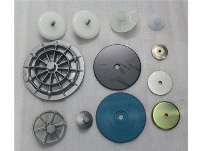 气动隔膜泵膜片压板