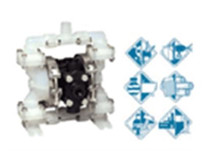 胜佰德隔膜泵 1/4寸塑料泵