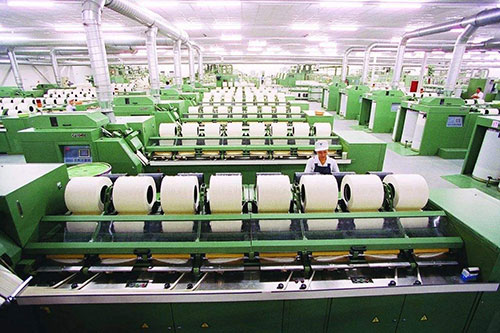 Application of carbon fiber in textile machinery