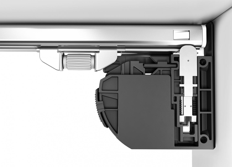 Quadro V6 4D 全拉出阻尼推弹托底轨