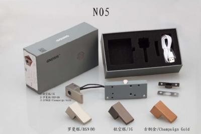 德国原装进口路福芬妮智能锁极简时代指纹拉手一体半导体活体带LED灯指纹锁