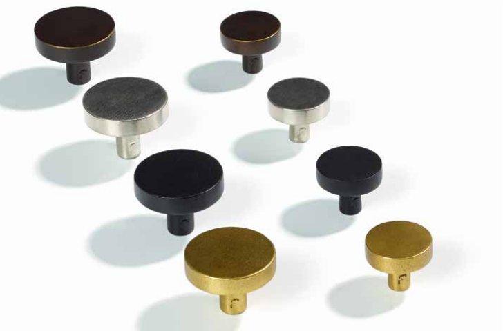 比利时原装进口JOLIE黄铜手工制作北欧风圆形简易拉手