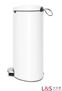 荷兰进口皇家御用卫生桶brabantia柏宾士平背脚踏式
