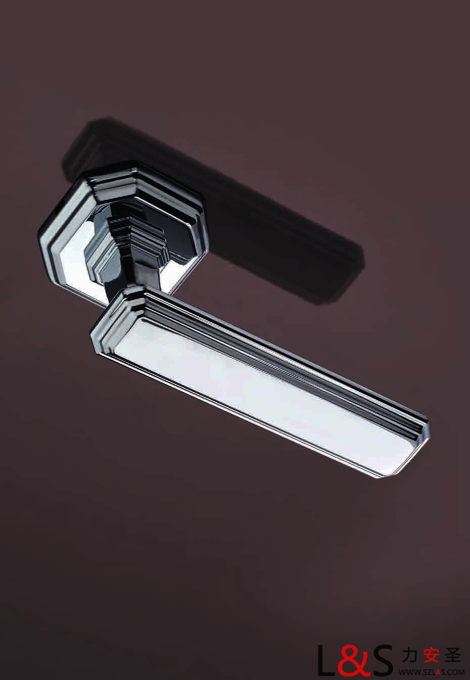 意大利原装进口forme弗洛密几何条形设计门锁