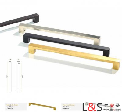 比利时原装进口JOLIE实心黄铜 砂铸 手工制作 长形拉手