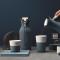 丹麦EvaSolo进口时尚个性手工玻璃水瓶冷水杯随手杯自带杯套