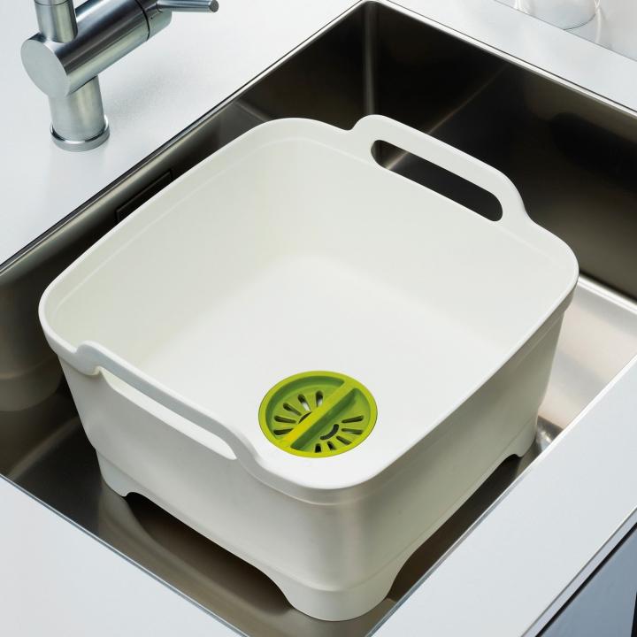 英国Joseph Joseph清洗槽滤水器 消毒奶瓶餐具盆移动洗菜蓝刷碗槽