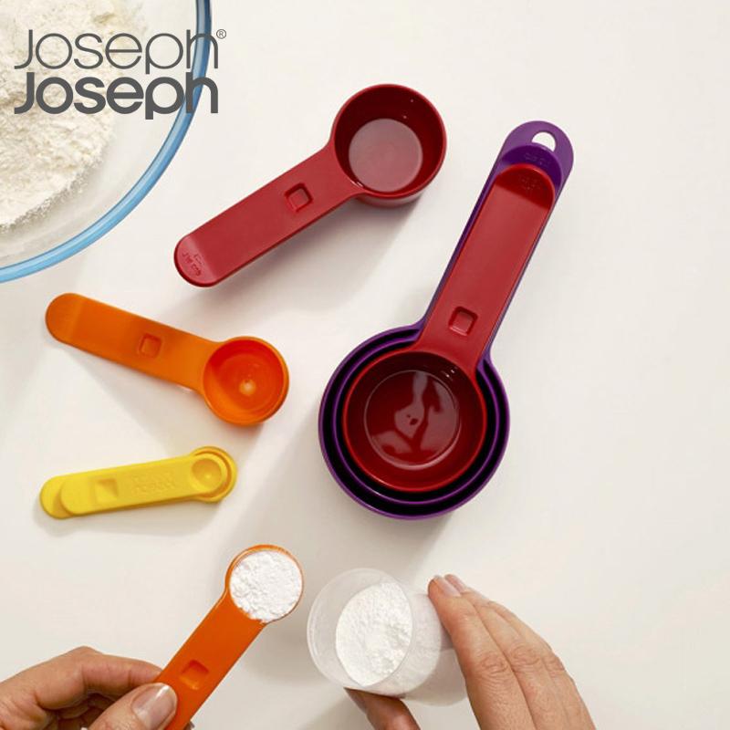 Opal系列彩虹长柄调料计量勺盐勺套装 8件装
