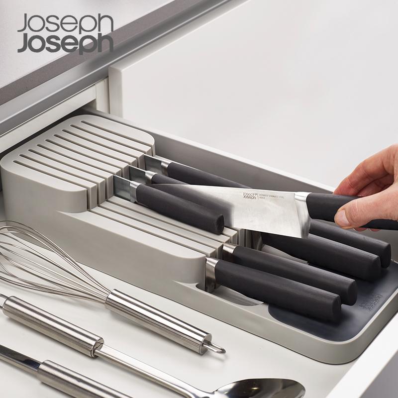 抽屉刀架抽屉整理器刀具置物架抽屉收纳盒
