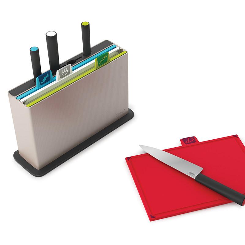 分类菜板带刀套装厨婴儿辅食塑料砧板进口