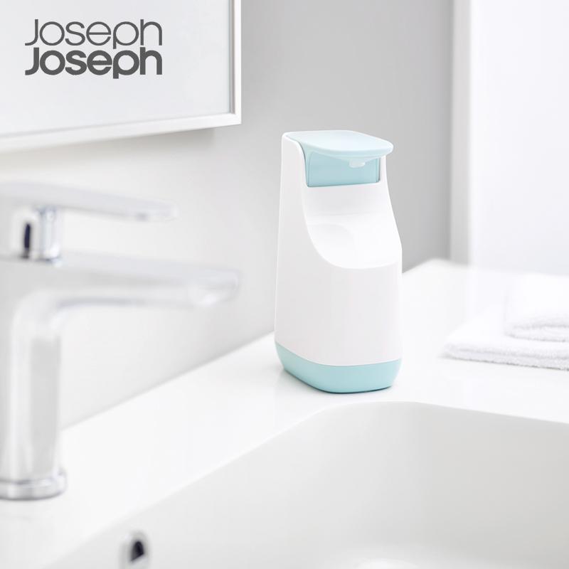 英国Joseph Joseph卫浴皂液器洗手液罐台面按压式替换皂液器