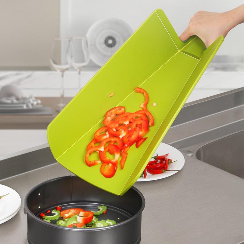 菜板塑料抗菌砧板分类折叠防霉家用切菜板