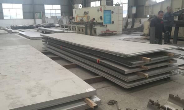不锈钢板存储区