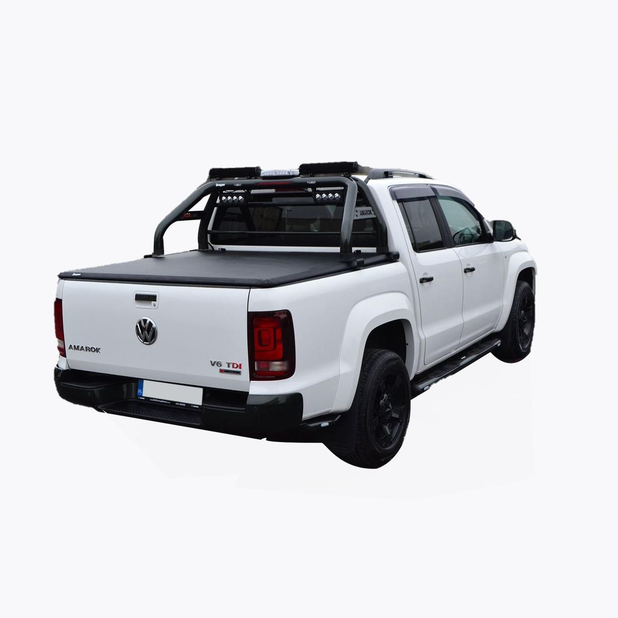 VW amarok soft tri fold tonneau cover