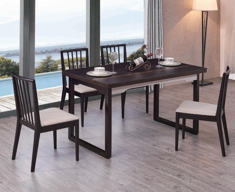 CT826餐台+Y617餐椅