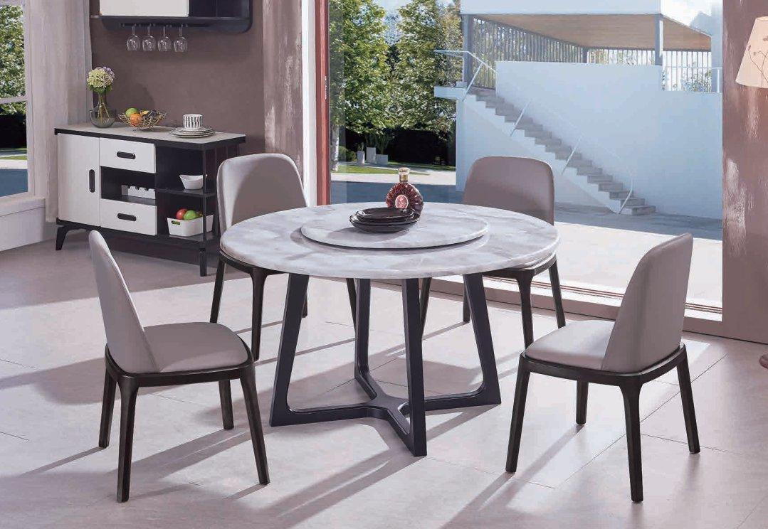 CT820餐台+Y513餐椅+Y512餐椅