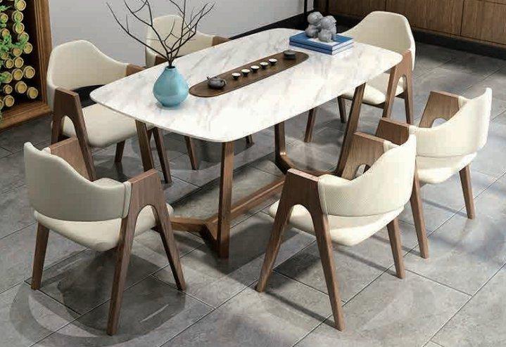 CT1797餐台+Y817餐椅