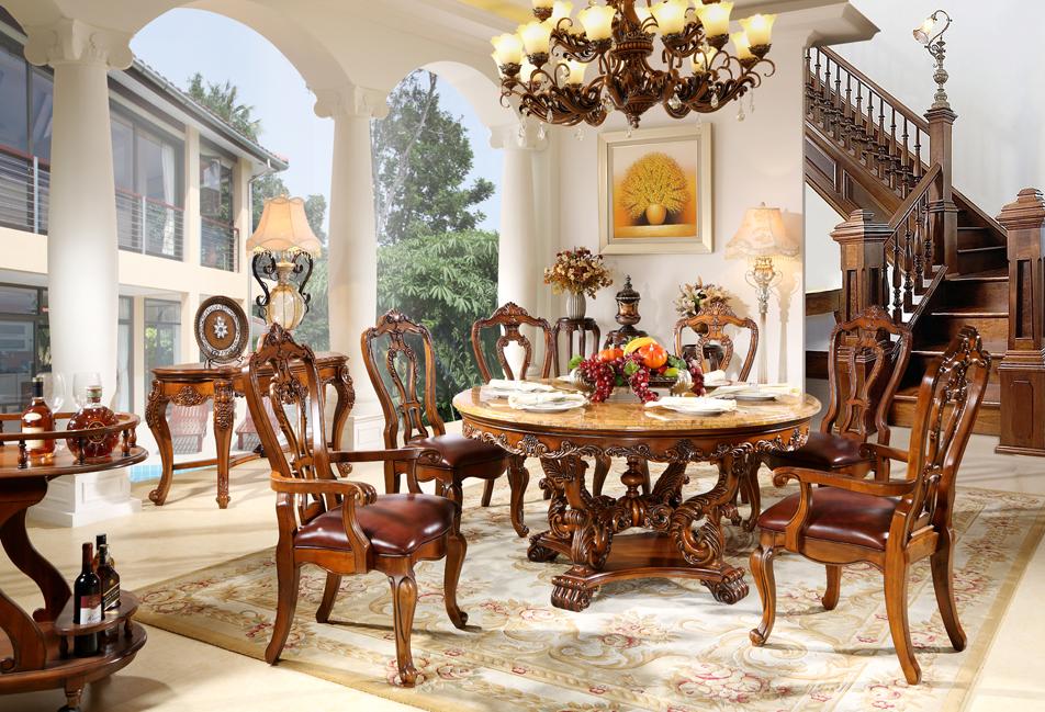 MJ6615圆形餐桌