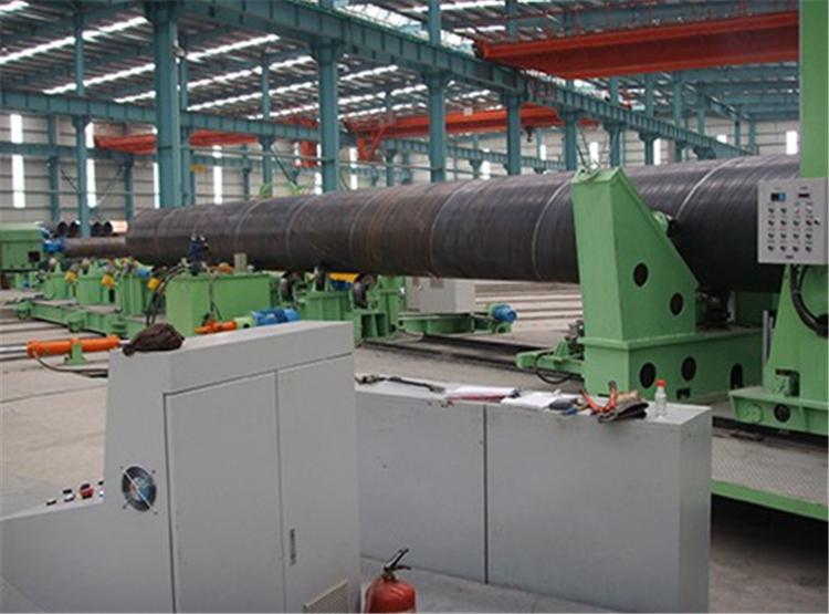 螺旋钢管机组生产线