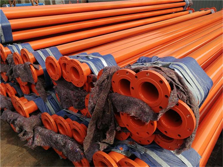 矿用瓦斯输送用涂塑钢管