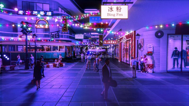 圣名国际广场街区设计