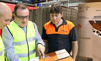 圣托罗曼的理念是不断投资于基础设施和技术,以制造瓦楞纸箱和任何可以用瓦楞纸箱制造的产品