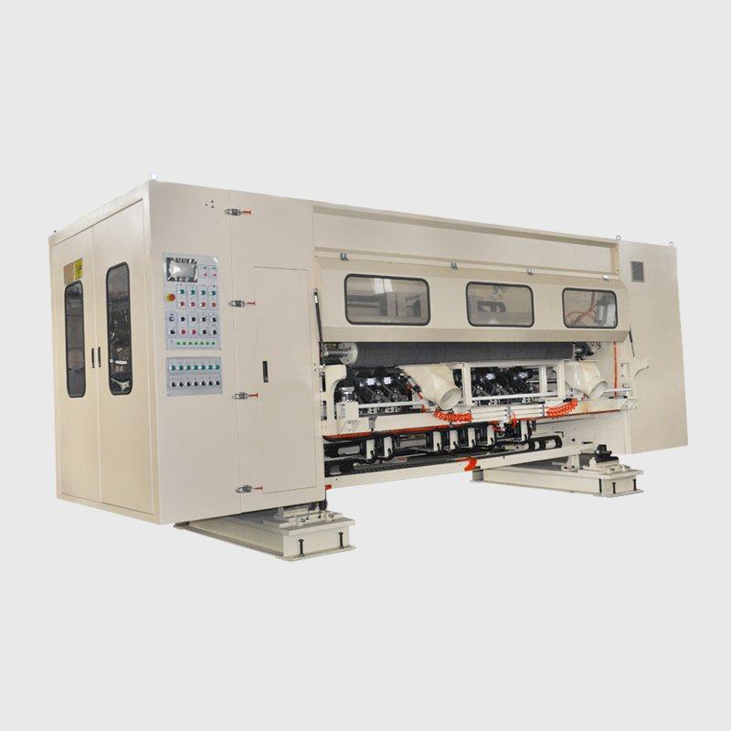 全伺服高速纵切压线机(下刀式)RRLB-6SB