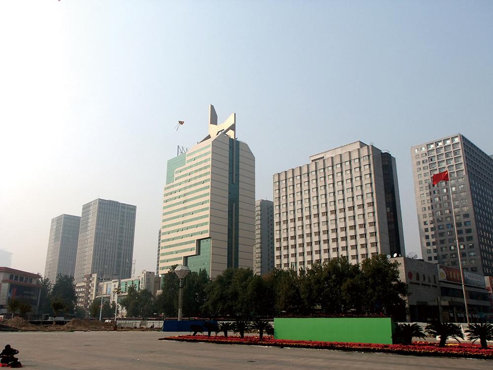 湖南省浏阳工业区办公大楼