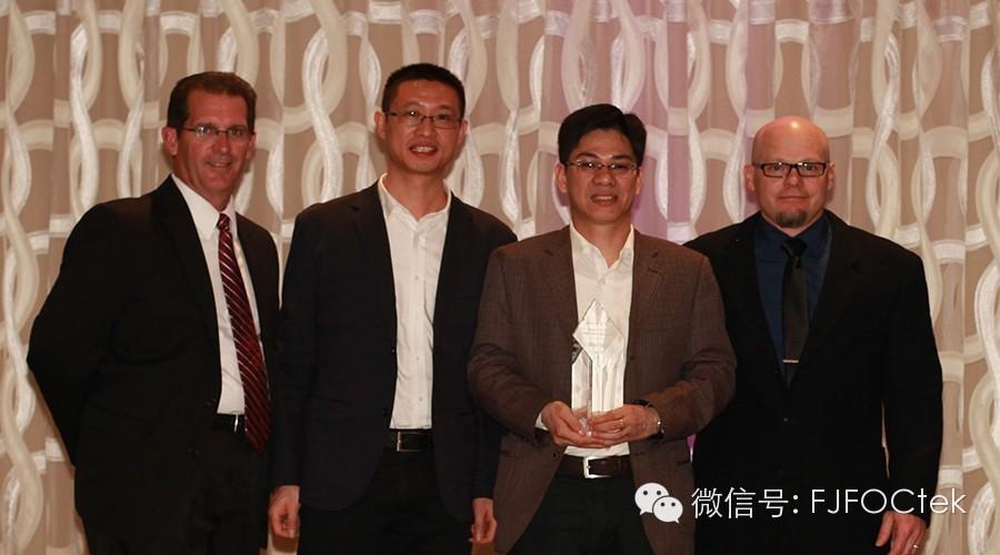 我司荣获2014年美国丹纳赫(DANAHER)集团的全球供应商年会上的三项大奖!