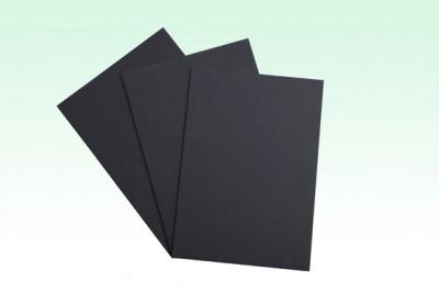 Black Paper Board