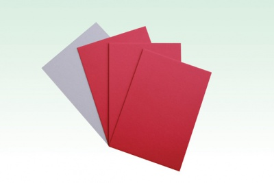 Red Color Paper Board