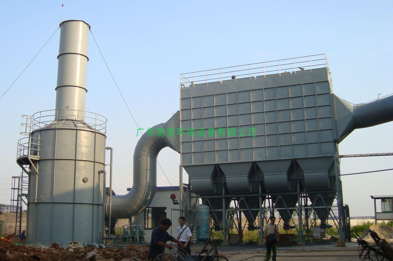 6台20T熔铝炉除尘脱硫