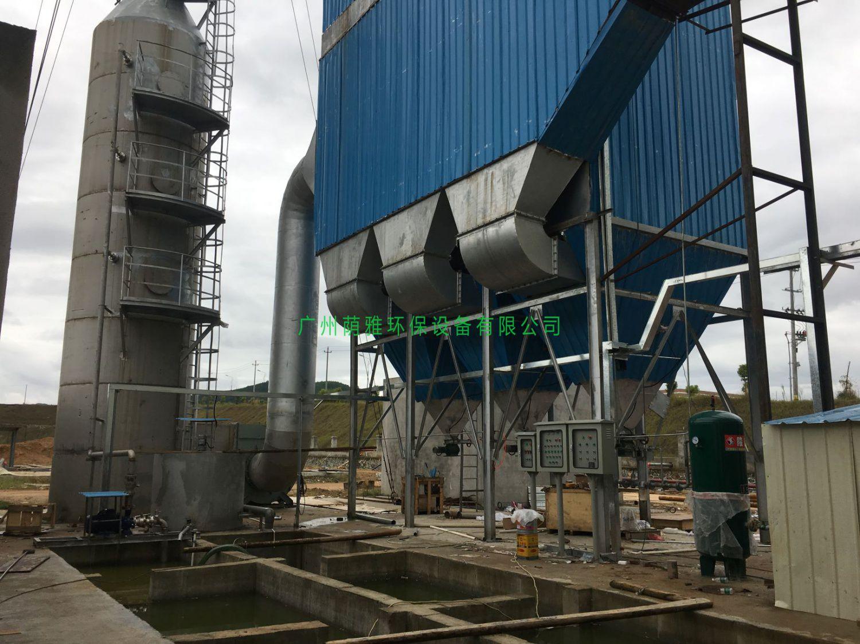 25T燃煤锅炉除尘脱硫