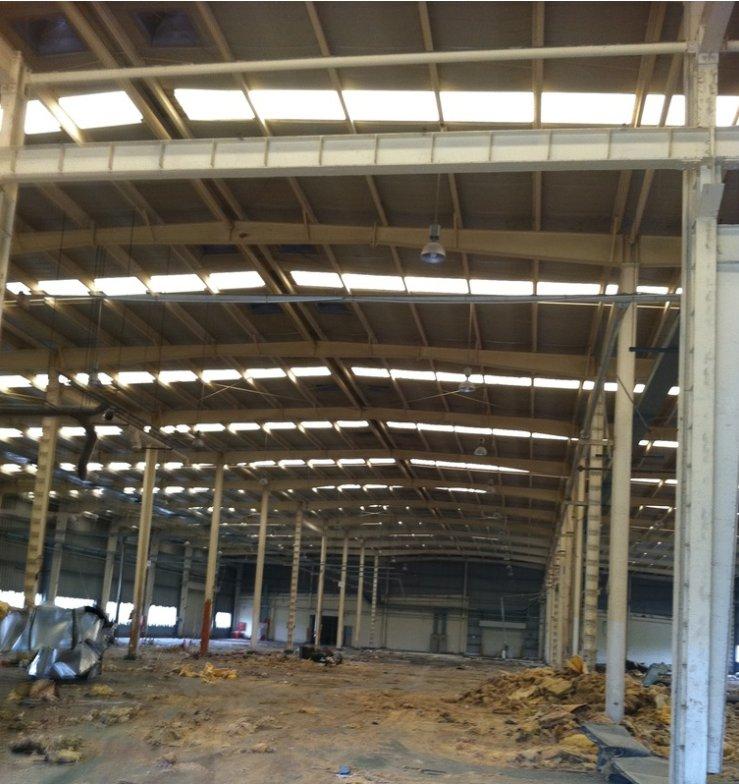 湖北二手钢构厂房出售