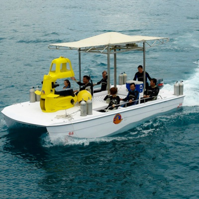 The Muti-function Diving Boat