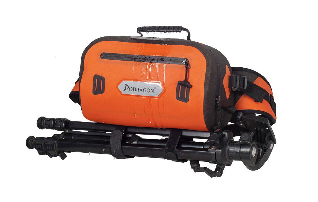 好的相机包 真正防水摄影腰包防水相机挎包来了