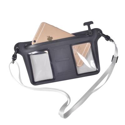 新款原创气密拉链开口手机防水袋背隐式设计
