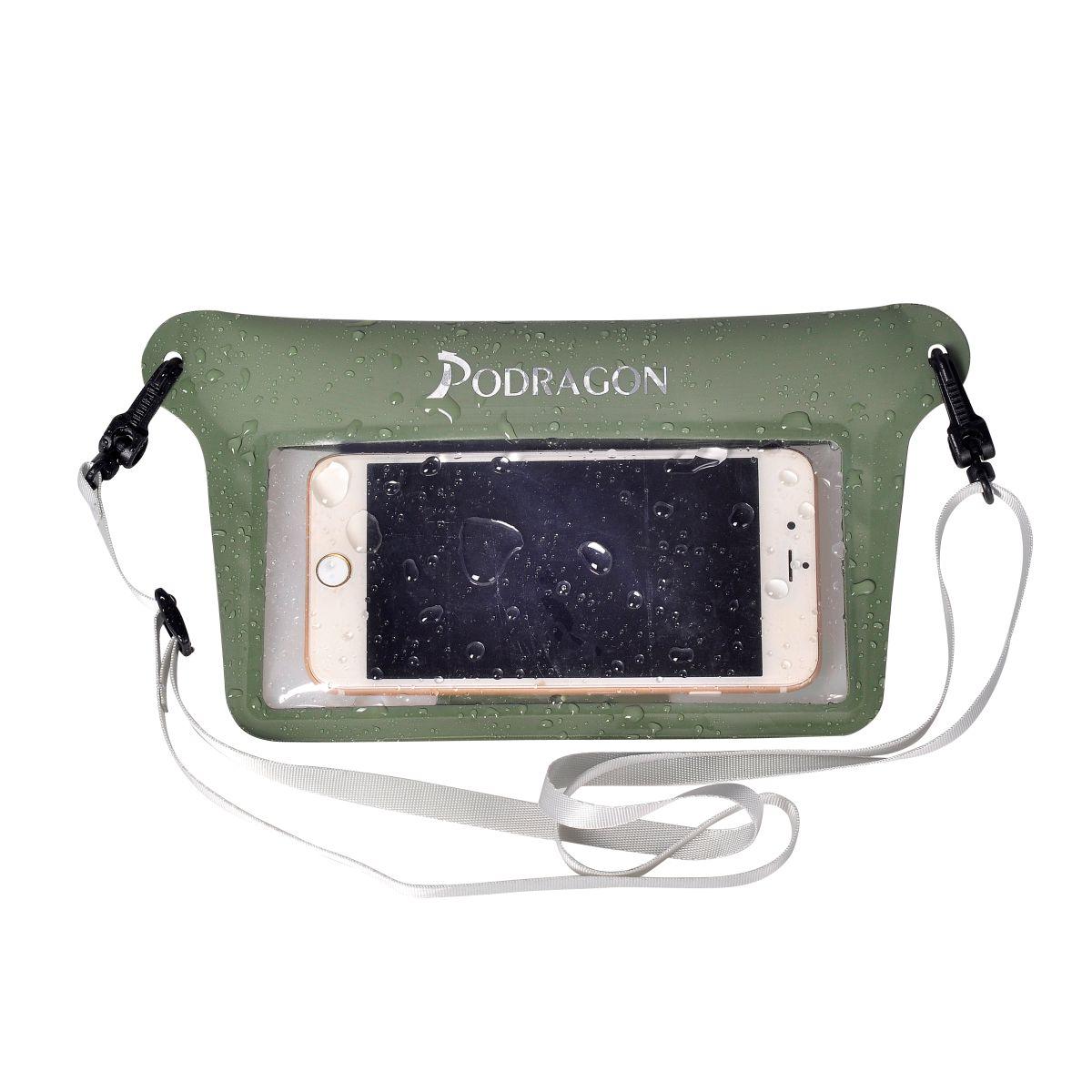 新款手机防水袋背隐式开口气密拉链加持时尚多色高颜值