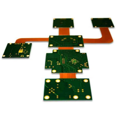 1.6mm FR4 HASL Flexible-Rigid PCB for AUX