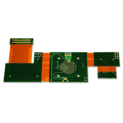 1.6mm FR-4 Immersion Gold Flexible-Rigid PCB for Controller